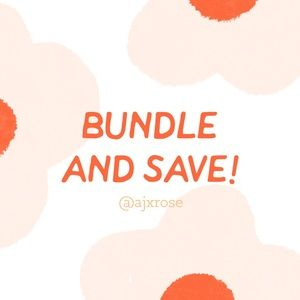 🌺 BUNDLE & SAVE 🌺
